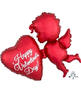 "30"" Red Cupid Balloon"