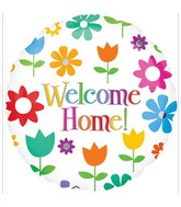 "18"" Welcome Home Flowers Balloon"