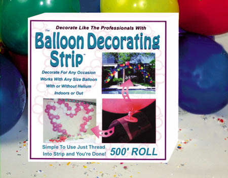 500 Foot Roll Of Balloon Decorating Strip