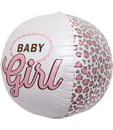 "17"" Baby Girl Sphere"