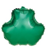 "18"" Foil Shape Balloon Green Shamrock"