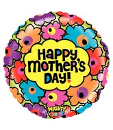 "21"" Mighty Bright Balloon Mighty Mother's Day Flowers"