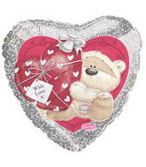 "17"" Fizzy Moon Love Balloon"
