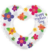 "31"" Happy Mother's Day Pretty Flowers Balloon"