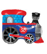 "28"" Train Shape balloons (Slight Damage)"
