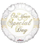 "18"" On Your Special Day Balloon"
