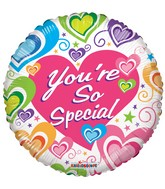 "18"" You're So Special Many Hearts Balloon"