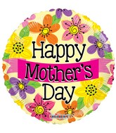 "18"" Happy Mother's Day Banner Balloon"