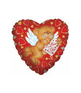 "26"" Cupid Bear I Love You"