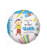 "18"" You're A Great Grandpa Balloon"