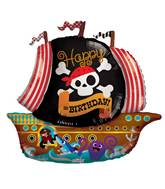 "36"" Pirate Boat Shape Balloon"