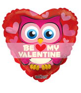 "18"" Be My Valentine Owl"