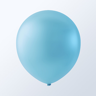 "5"" Latex Balloons Creative Brand (144 Count) Sky Blue"