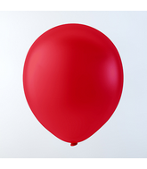 "9"" Creative Brand Red Pastel Latex Balloons (144 Per Bag)"