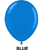 "9"" Standard Party Style Latex Balloons (100 CT) Blue"