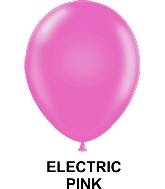 "9"" Fashion Party Style Latex Balloons (100 CT) Electric Pink"