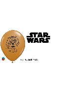 "5"" Chebacca Face Latex Balloons 100 Count"