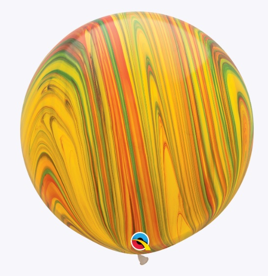 "30"" Traditional SuperAgate Balloons"