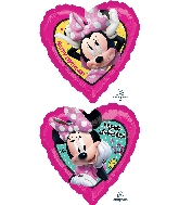 "18"" Minnie Happpy Helpers HBD Foil Balloon"