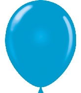 "17"" Standard Blue Tuf Tex Latex Balloons 50 Per Bag"