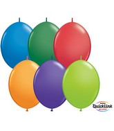 "12"" Qualatex Carnival Assortment Quicklinks (50 count)"