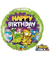 "18"" The Trash Pack Foil Balloon Birthday"