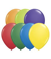 "11"" Qualatex Latex Carnival Assorted Balloons  100CT"