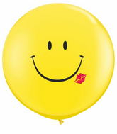 3' A Smile & A Kiss Yellow (1-Sided) (2 ct.)