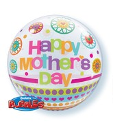 "22"" Single Bubble Mother's Day Dots and Patterns"
