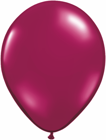 "9""  Qualatex Latex Balloons  SPARKLING BURGUNDY   100CT"