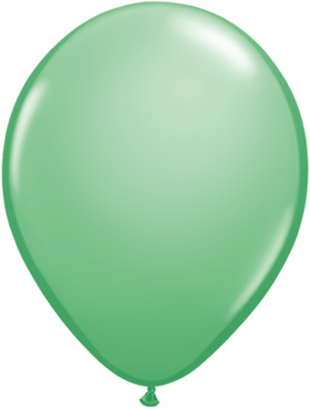 "9""  Qualatex Latex Balloons  WINTERGREEN    100CT"