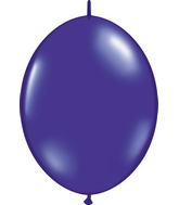 "12"" Qualatex Latex Quicklink Quartz Purple 50 Count"