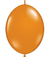 "12"" Qualatex Latex Quicklink Mandarin Orange 50 Count"