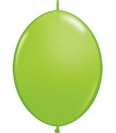 "06"" Qualatex Latex Quicklink Lime Green 50 Count"
