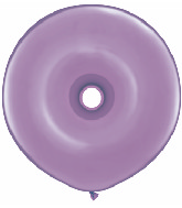 "16"" Geo Donut Latex Balloons (25 Count) Spring Lilac"
