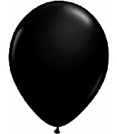 "9""  Qualatex Latex Balloons  ONYX BLACK     100CT"