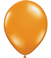 "9""  Qualatex Latex Balloons  MANDARIN ORANGE    100CT"