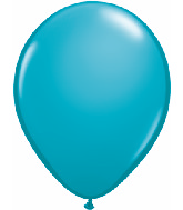 "9""  Qualatex Latex Balloons  TROPICAL TEAL  100CT"