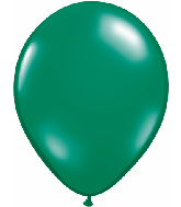 "11""  Qualatex Latex Balloons  EMERALD GREEN  100CT"