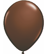 "11""  Qualatex Latex Balloons  CHOCOLATE BROWN  100CT"