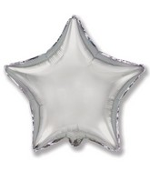 "4"" Airfill Only Silver Star"