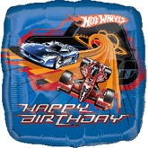 Hot Wheels Balloons