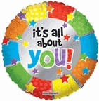 "18"" Balloon It's All About You"