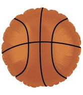 "18"" Basketball Foil Balloon"