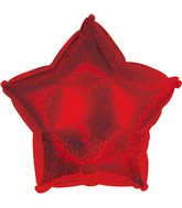 "9"" Airfill Red Dazzleloon Star M145"