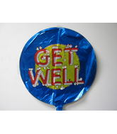 "18"" Get Well Soon Mylar Balloon (Damaged Print)"