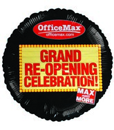 "18"" Max Office Grand Opening Celebration Balloon"