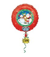 "28"" Happy Holidays Singing Balloon"