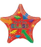 "30"" Supershape Top of The Class Balloon"