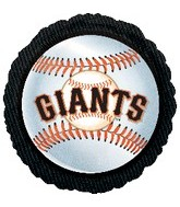 "18"" MLB San Francisco Giants Baseball"